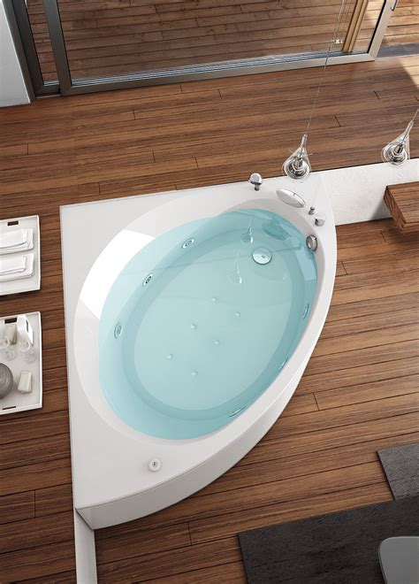 vasca hafro bagno sfruttare l angolo cose di casa