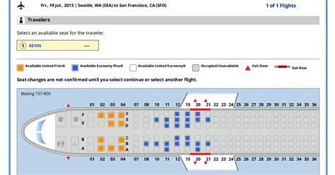 airlines reservation siege avis du vol united seattle san francisco en economique