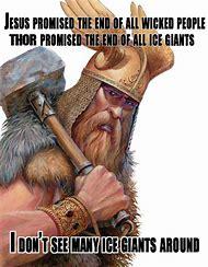 Odin Vs. Jesus
