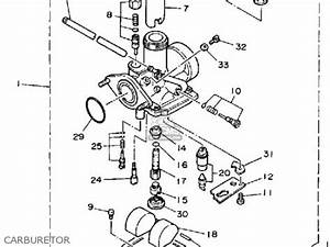 yamaha yfm200n 1985 moto 4 parts lists and schematics With yamaha moto 4 carburetor diagram on yamaha banshee headlight diagram