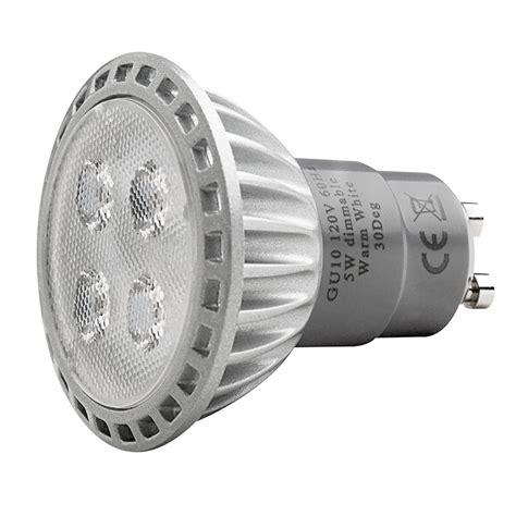 dimmable gu10 led bulb warm white 2700k 5w high power