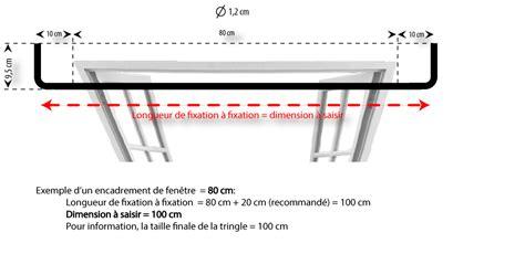tringle  rideaux coudee petit modele sur mesure en fer
