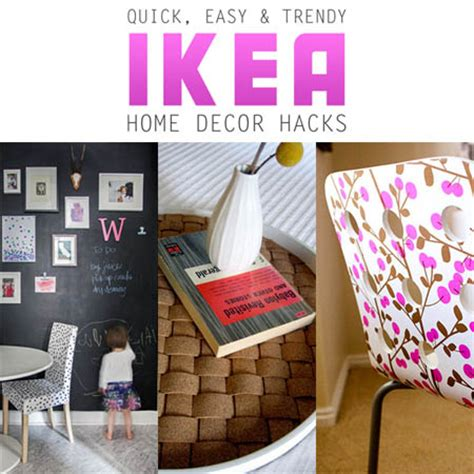 easy and trendy home decor ikea hacks the cottage