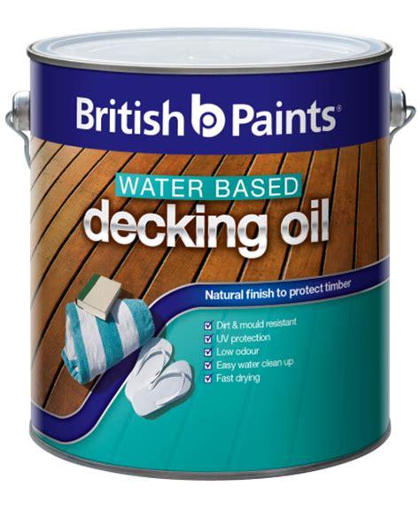 british paints  water based exterior premium decking oil