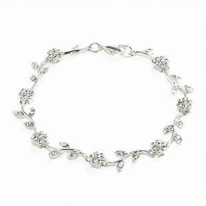 vine bracelet wedding dress from jon richard jewellery With bracelet