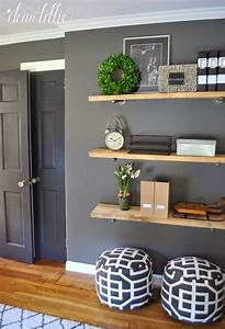 25 best ideas about living room shelves on pinterest With kitchen cabinets lowes with wall art ideas living room