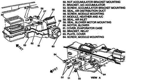 2000 Chevy Suburban Heater Diagram by I A 1998 Chevy K2500 I Replaced Blend Door