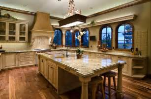 kitchen island at home depot tuscan in the pines mediterranean kitchen portland