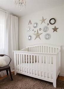 Mirrors over crib transitional nursery