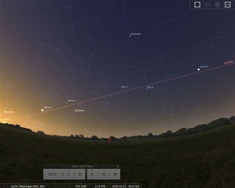 planet parade pre dawn late january   millstone