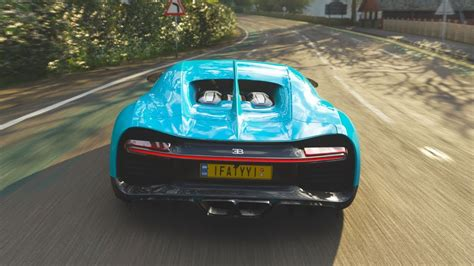 The 2018 bugatti chiron is an awd hypercar by bugatti featured in forza motorsport 7 as part of the dell. Bugatti Chiron - Forza Horizon 4 - YouTube