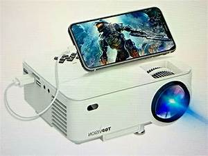 Mini Projector  Topvision 2400lux Projector With
