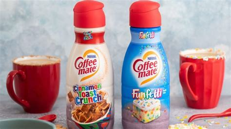 That's why we teamed up with cinnamon toast crunch™ to give you exactly what you crave—sweet and cinnamon deliciousness right in your cup. Cinnamon Toast Crunch and Funfetti Coffee Creamers Are FINALLY Here! | Taste of Home