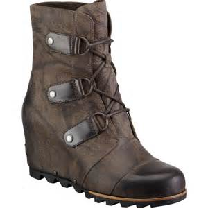 s wedge boots canada sorel joan of arctic wedge mid boot 39 s backcountry com