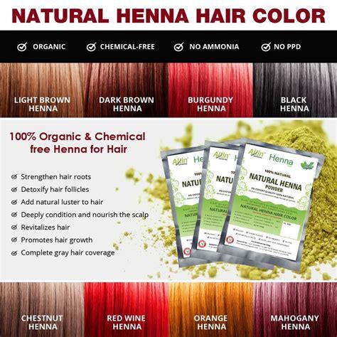 Allin Exporters Natural Henna Hair Color 100 Organic