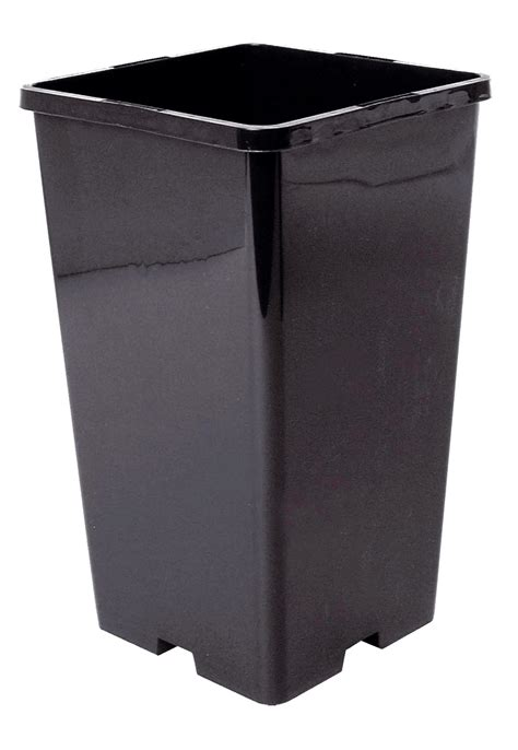 Square Plant Containers by Container Pot Square Sopcorsp 163 8 89 Bhgs Ltd