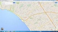 Santa Monica California Map