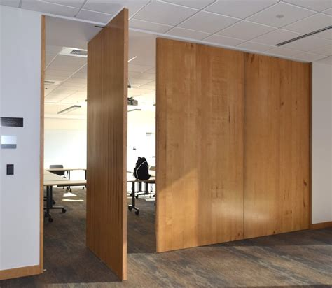 pivot door non warping patented honeycomb panels and