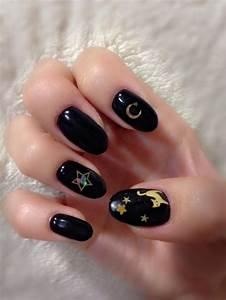 Sailor Moon nails | Nail Art | Pinterest | Sailors, Sailor ...