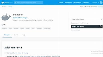 Docker Command Pull Mongodb Geeksforgeeks Host Step