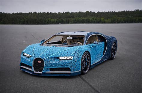 full scale moving bugatti chiron   lego revealed