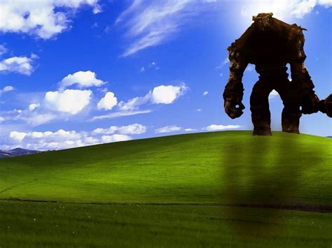 Shadow Of The Colossus Video Games Windows Xp Wallpapers