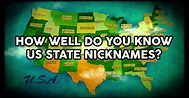 How Well Do You Know US State Nicknames? | QuizPug