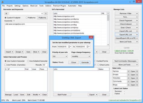 Create Xml Sitemaps Scrapebox