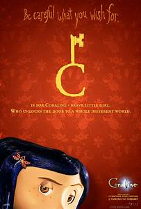all the 39 coraline 39 alphabet posters geektyrant