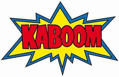 Kaboom Boom Tick Clipart Tape Funny Karamea