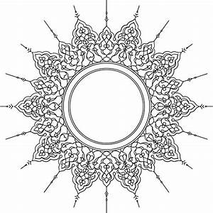 Clipart - Decorative Ornamental Circle
