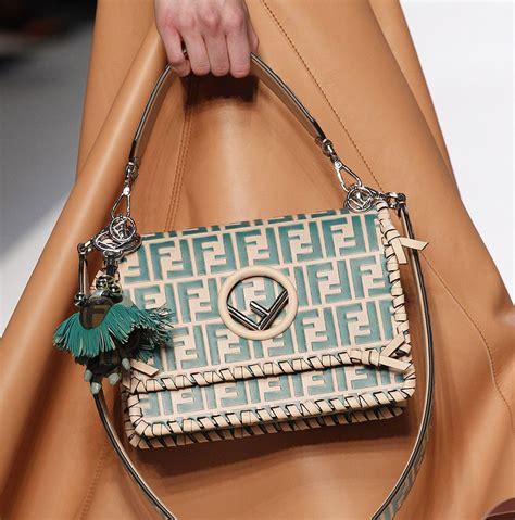 fendis spring  bags  logos  plaid  spice  peekaboos  bucket bags purseblog
