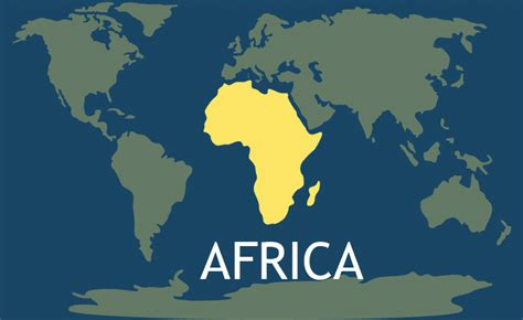 africa continent   continents   world