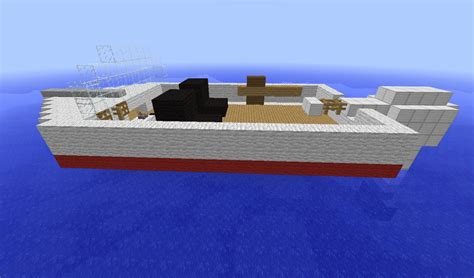 Boats Minecraft by Small Boat Minecraft Project
