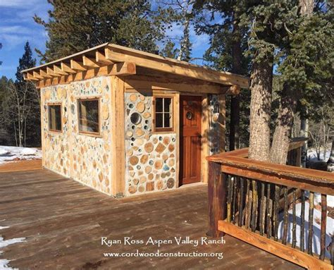 cordwood sheds  excellence   cordwood homes