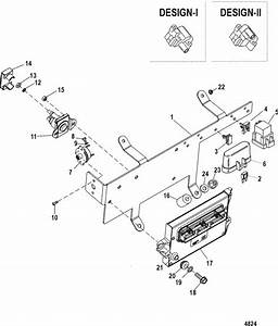 Mercruiser 8 1l Inboard  Base  Pcm  U0026 Bracket Parts