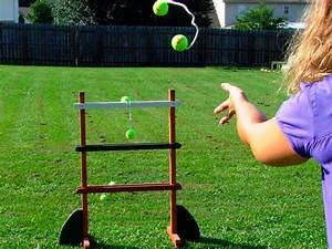 How to Build a Ladder Golf Game how-tos DIY