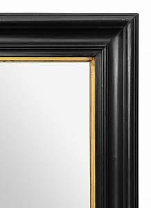 Miroir Cadre Noir : grand miroir ancien noir d poque napol on 3 ~ Teatrodelosmanantiales.com Idées de Décoration