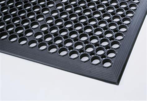 sol cuisine professionnelle tapis caoutchouc anti fatigue caillebotis antidérapant 24