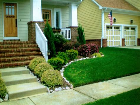 Backyard Design Ideas, Simple Front Yard Landscaping