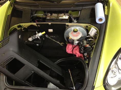 gt master cylinder install   cayman  rennlist