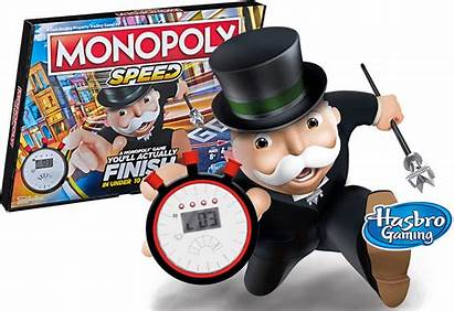 Monopoly Speed Minutes Hasbro Producto Under Board