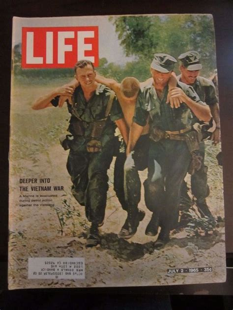 life magazine july  deeper   vietnam war marine