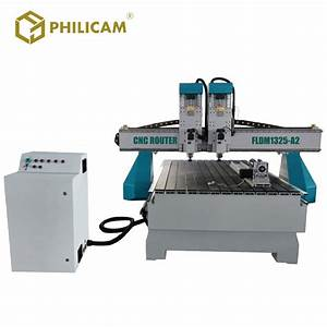 China Double Head Cnc Router Heavy Table Manufacturers And