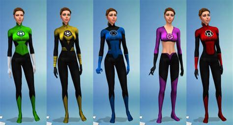 lantern corps uniforms  sambler sims  updates