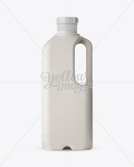 Free psd mockups templates for: Download Frosted Plastic Milk Jug Mockup PSD