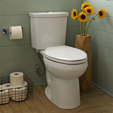 H2option Dual Flush Right Height Elongated Toilet 0921