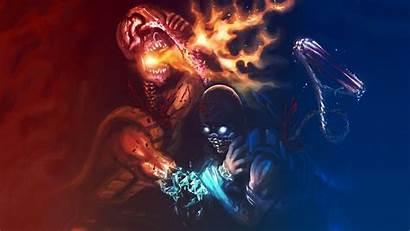 Scorpions Scorpion Mortal Kombat Confrontation Zero Sub