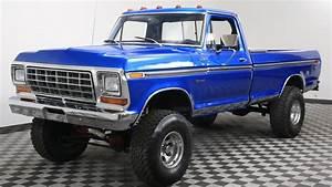 1978 Ford F-150 Blue