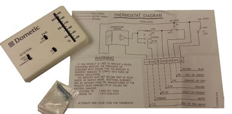 Dometic Furnace Wiring by Dometic Analog Thermostat Cool Furnace 3106995 032